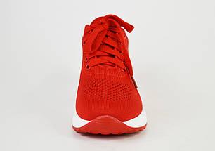 Кроссовки женские Vikonty 71322 Красные текстиль, фото 3