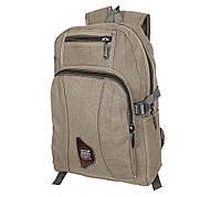 Рюкзак мужской текстильный 303333-3Khaki Хаки, фото 1