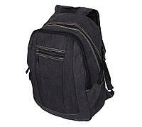 Рюкзак мужской текстильный 303362-3Black Черный, фото 1