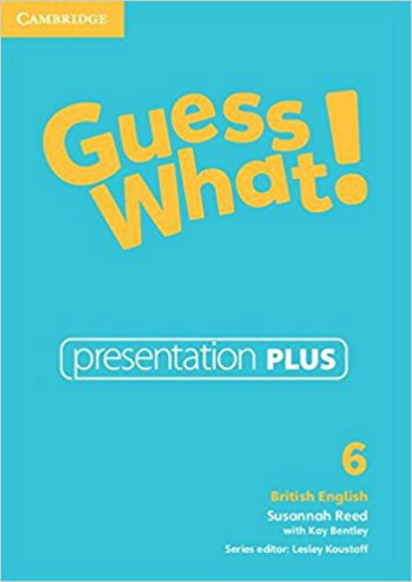 Guess What! Level 6 Presentation Plus DVD-ROM