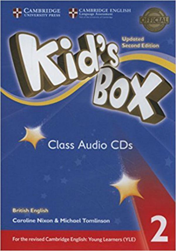 Kid's Box Level 2 Class Audio CDs (4) British English
