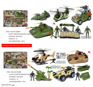 """Транспортний набір """"Військовий"""", 2 види, HW-M32B3/M32B5"""