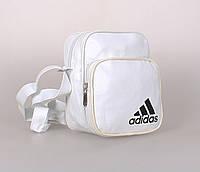 Мужская сумка белого цвета, фото 1