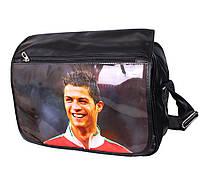 Спортивная сумка для школы с фото известного футболиста , фото 1
