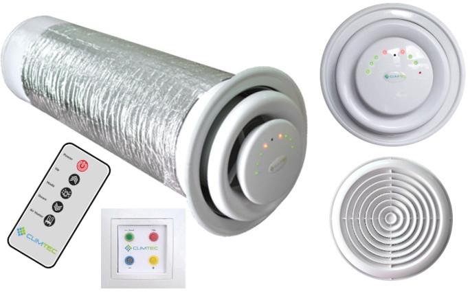 Вентиляция с рекуперацией тепла для дома или офиса
