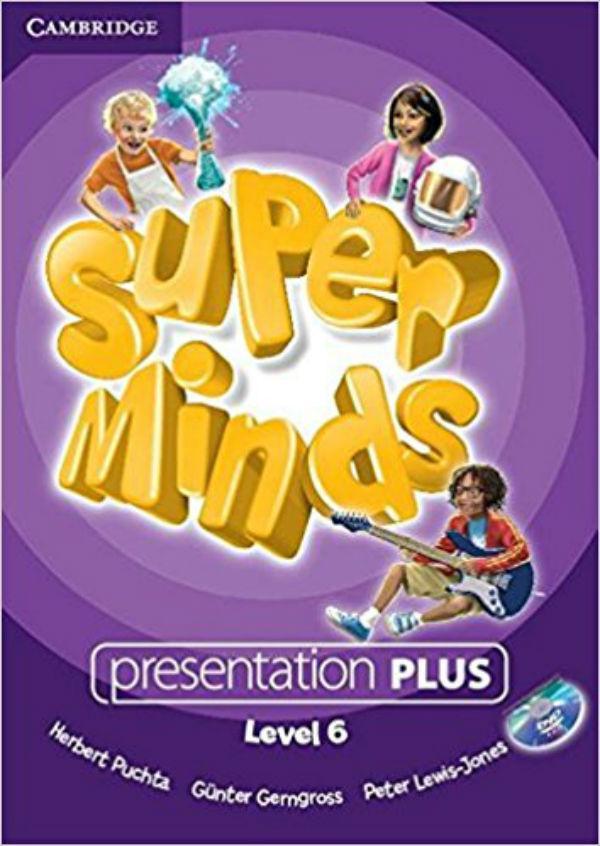 Super Minds 6 Presentation Plus DVD-ROM