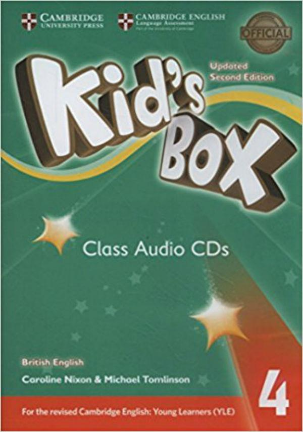 Kid's Box Updated Second edition 4 Class Audio CDs (3)