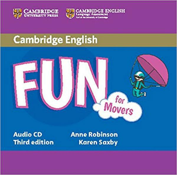 Fun for 3rd Edition Movers Audio CD