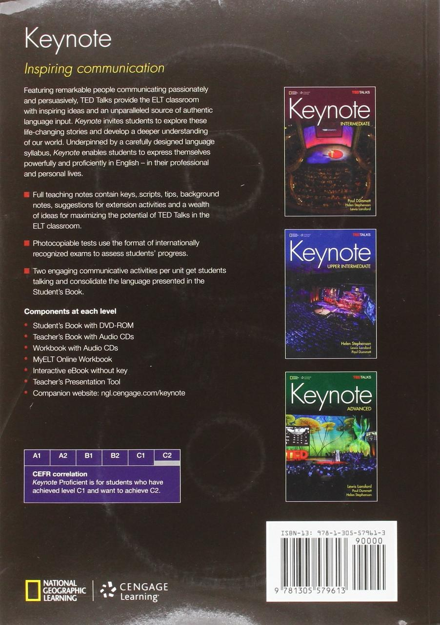 Keynote Proficient TB with Audio CDs
