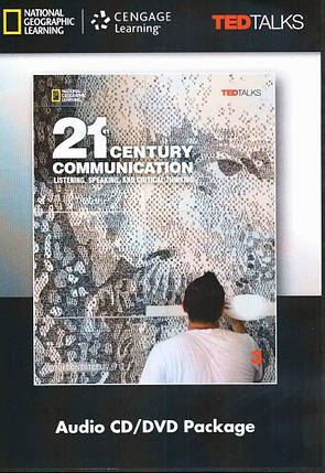 21st Century Communication: Listening, Speaking and Critical Thinking 3 Audio & Video DVD, фото 2