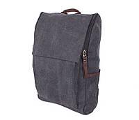 Рюкзак темного цвета 8154-1BLACK Черный