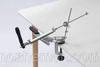 Точильный набор для различных видов ножей и топоров, с поворотным механизмом и регулируемым углом заточки