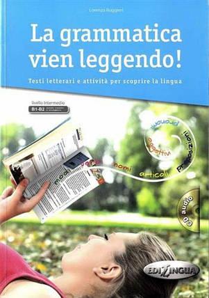 La Grammatica Vien Leggendo Libro + CD audio, фото 2