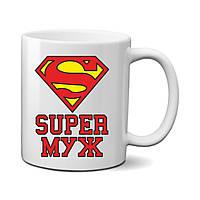 "Чашка ""Super муж"""