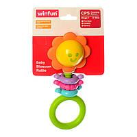 """Погремушка WinFun """"Цветок"""", прорезыватель, 0182-NI"""