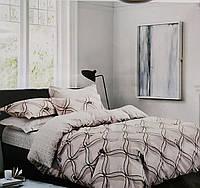 Постельное двухспальное с европростеней Байка-Фланель Е-807