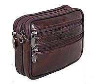 Мужская кожаная сумка Dovhani Bon-9947 Коричневая, фото 1