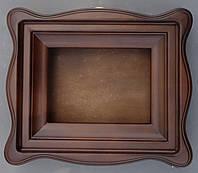 Киот для иконы фигурный с внутренней деревянной рамой, фото 1
