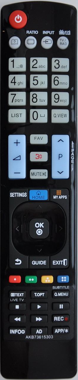 Пульт с телевизора LG. Модель AKB 73615303 (3D)