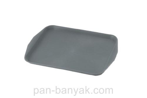 Поднос Полімет  темный 50х40 см пластик (500*400)