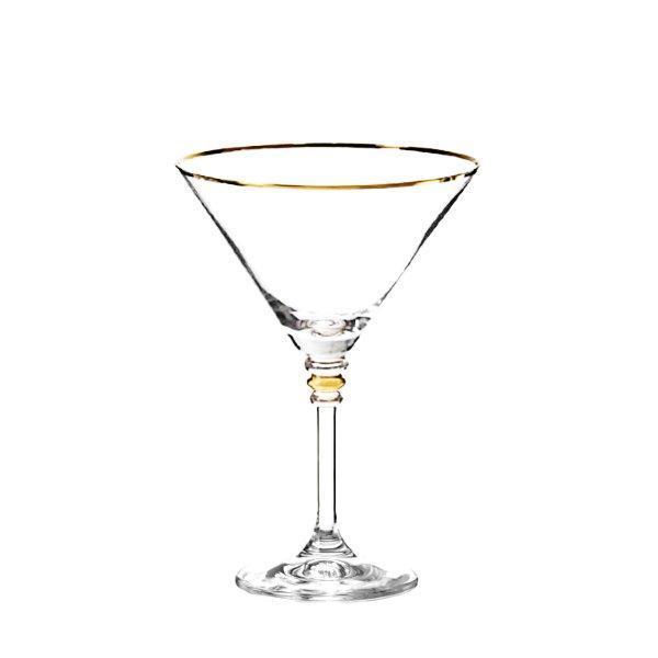 Набір келихів для вина Bohemia Olivia 6 штук 210мл d10,5 см h15,5 см богемське скло (40346-М8474/210)