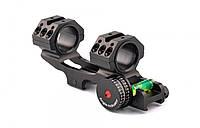 Моноблок для оптического прицела с угловым индикатором, крепление Weaver