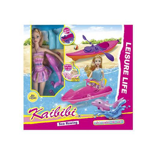 Кукла, байдарка, водный скутер, дельфин, BLD248