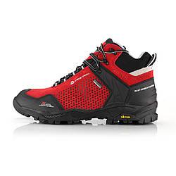 Ботинки унисекс мужские женские красные Alpine Pro Angoon