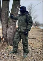 Костюм зимний для рыбалки Atlant MR Camo -40° - ткань непродуваемая с двойным утеплителем, фото 1