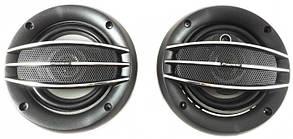 Колонки автомобильные круглые Pioneer TS-1074, авто акустика, автоколонки