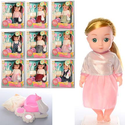 Лялька, гребінець, дзеркало, звук, 10 видів, SNB126GHIJKLCHIK, фото 2
