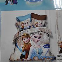 Детское постельное бельё Леденое сердце