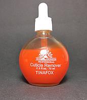 Средство(ремувер) для удаления кутикулы с пипеткой Global Fashion апельсин, 75 мл