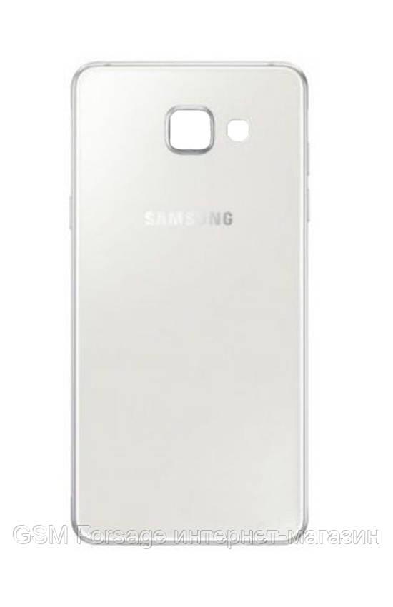 Задняя часть корпуса Samsung Galaxy A5 (2016) A510 (White)