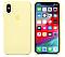 Чехол (Silicone Case) для iPhone X / iPhone XS Yellow, фото 2