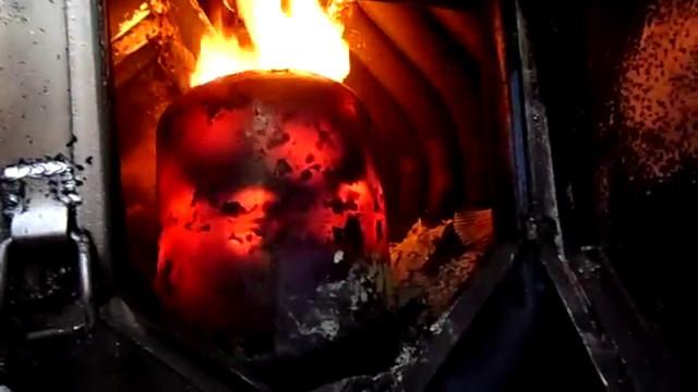 Как работает печь булерьян