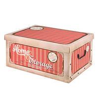 Коробка для хранения с крышкой, 37х31х16 см (IMP_18_3)