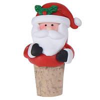 Пробка для бутылки новогодняя Санта (IMP_NG_44_1_SANTA)