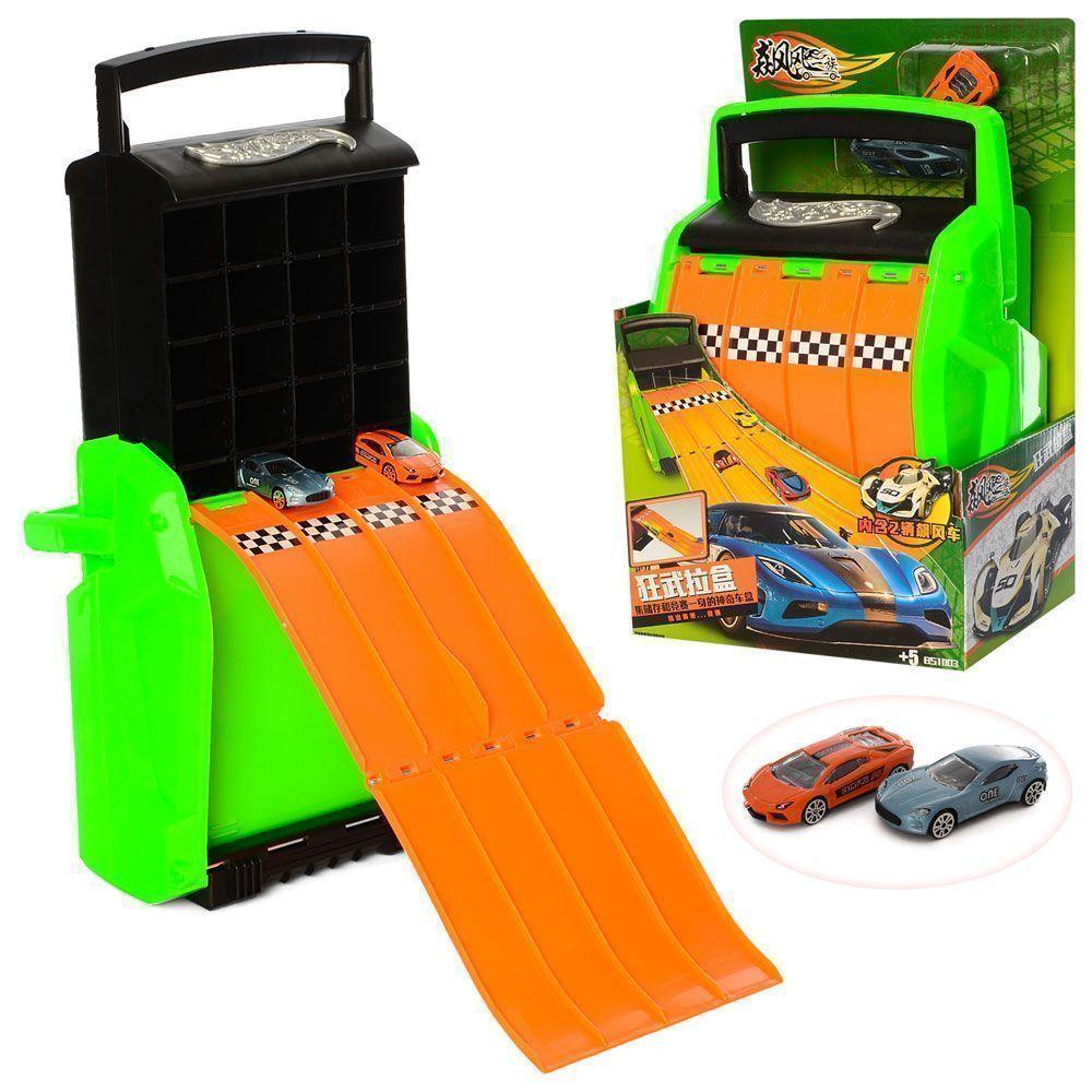 Трек-чемодан 1003 - детский игровой набор