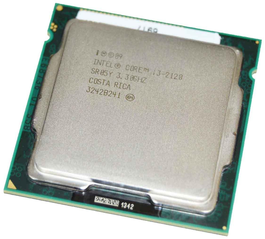 Процессор, Intel Core i3-2320, 4 ядра, 3.30 гГц