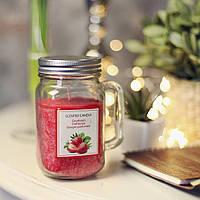 Свеча в стеклянной кружке Jar (клубника) (IMP_25_STR)