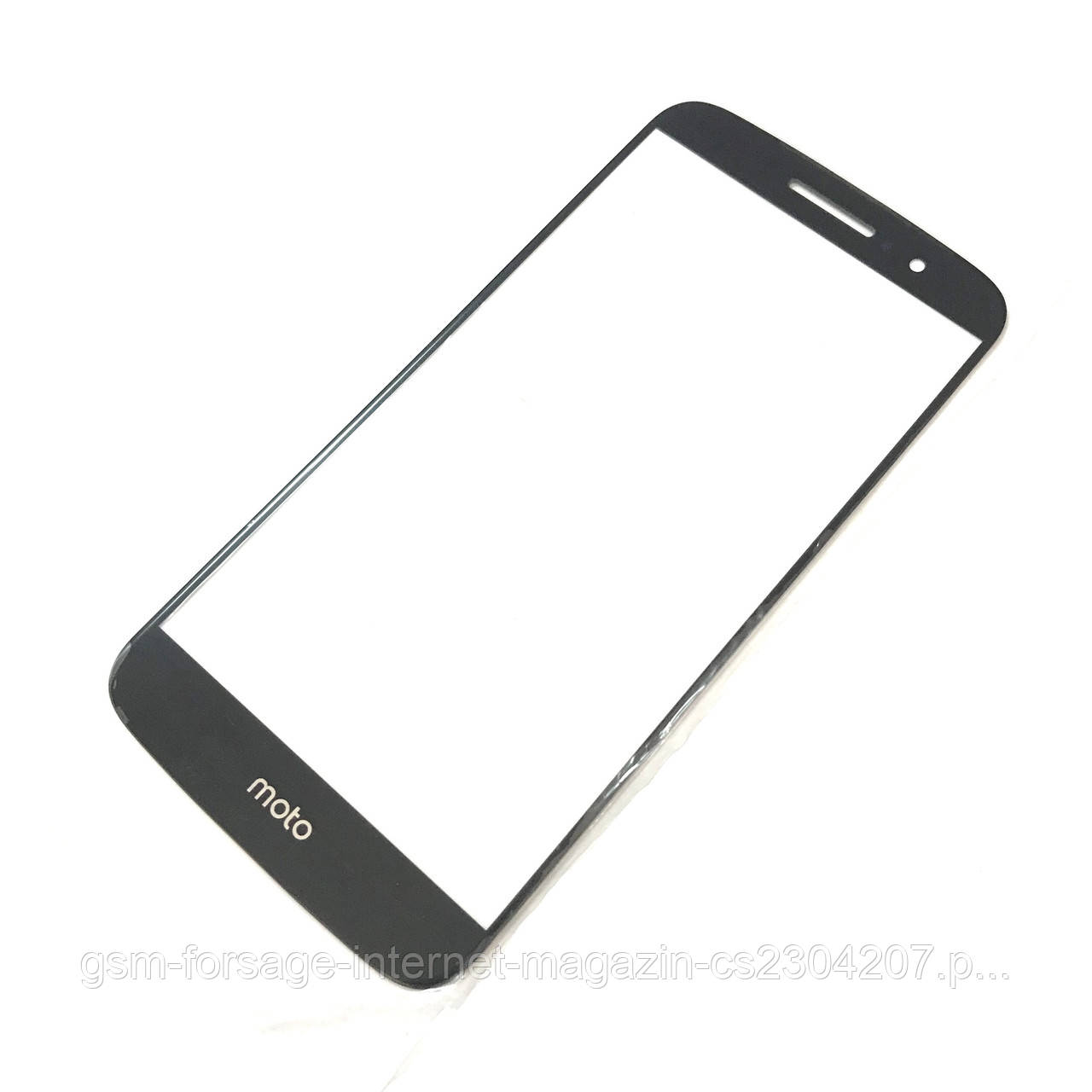 Стекло дисплея Motorola XT1622 Moto M / XT1663 Moto M Black (для переклейки)