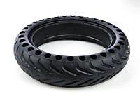 Перфорированная антипрокольная шина для самоката, Черная