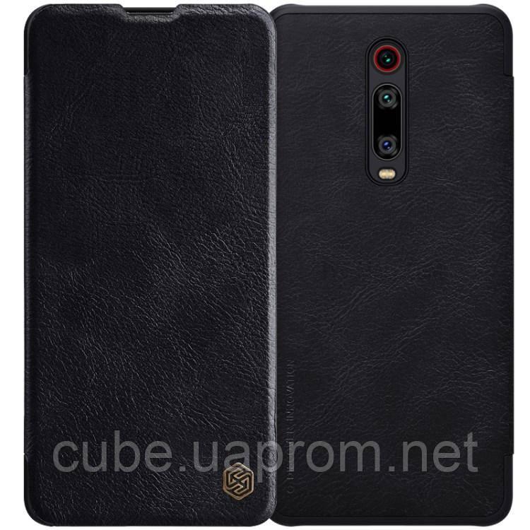 Чехол-книжка флип чехол flip NILLKIN Qin Series для Xiaomi Mi 9T  Pro   Redmi k20 K20 Pro  Black