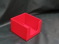 Салфетница акриловая красная, фото 1