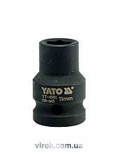 """Головка торцевая ударная шестигранная YATO 1/2"""" М11 х 39 мм"""
