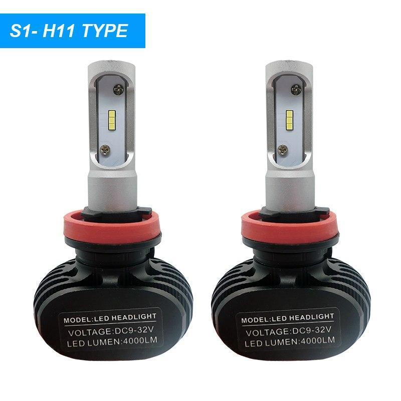 Светодиодная лампа цоколь H11, S1 GSP 6500К, 4000 lm 25W, 9-36В