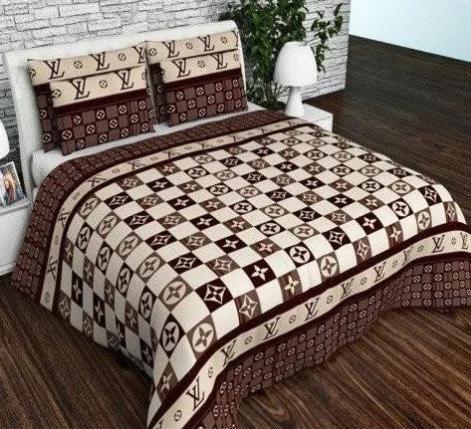 """Семейный комплект постельного белья """"Фирменный коричневый"""", фото 2"""