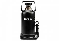 Домкрат гидравлический бутылочный YATO 20 т 241-521 мм
