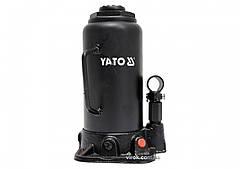 Домкрат гидравлический бутылочный YATO 15 т 230-462 мм